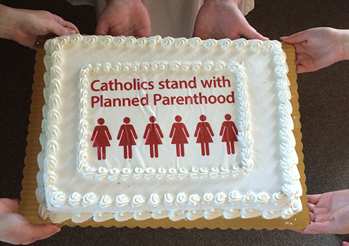 Planned Parenthood cake